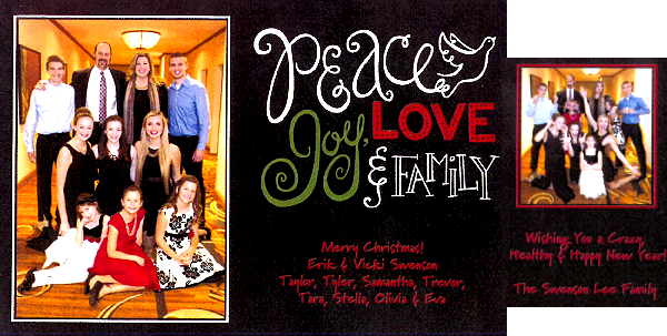 Swenson Lee Family Holiday Card