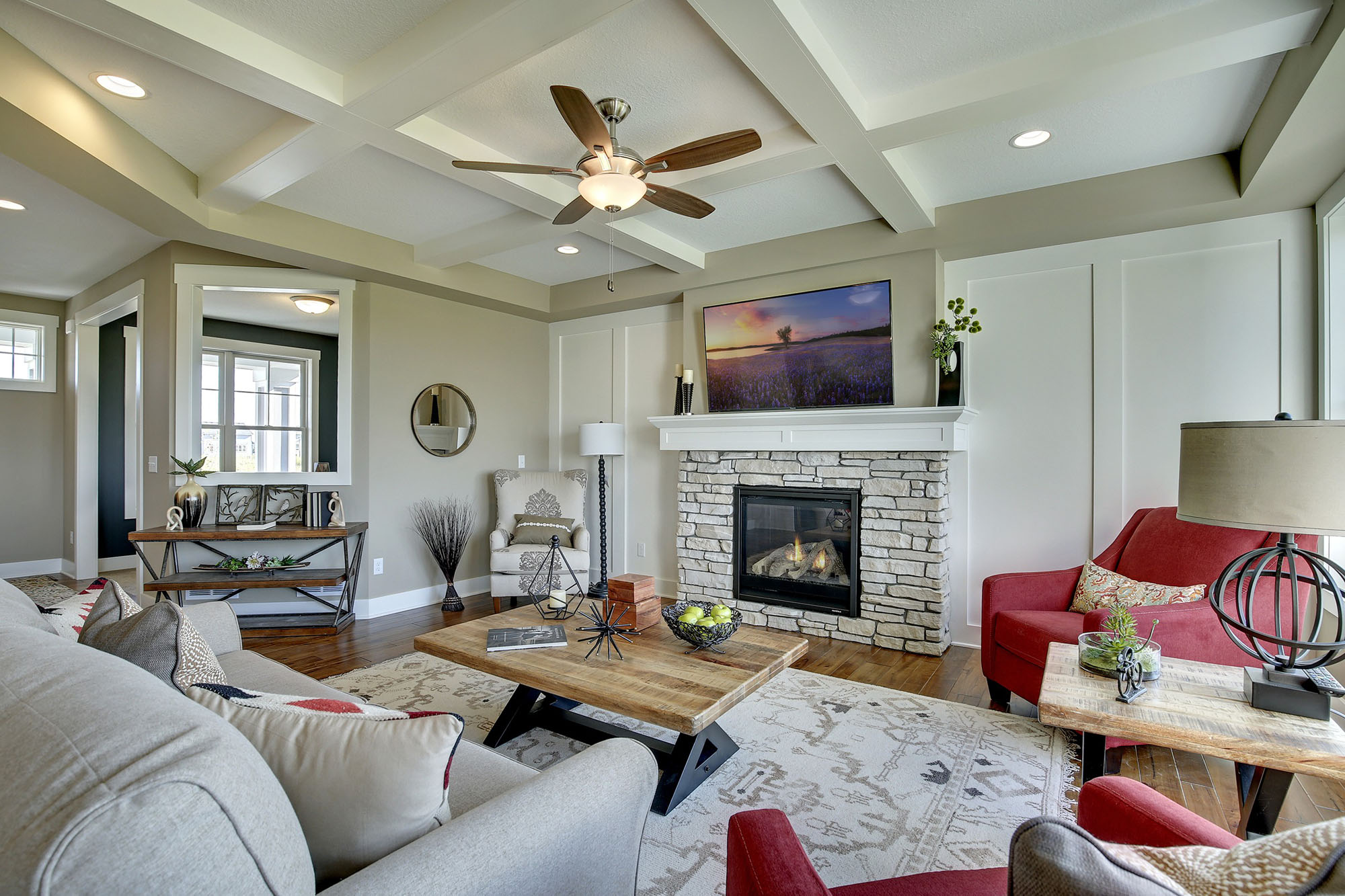 Media Walls, Entertainment Centers & Fireplaces