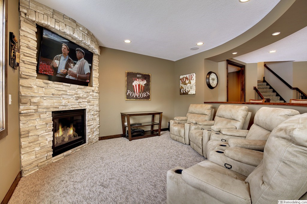 Media Entertainment Centers & Fireplaces Photos