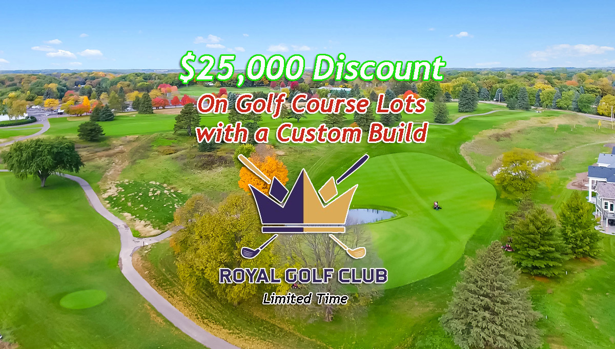 $25K Discount Golf Course Lot w/Custom Build (Limited Time)