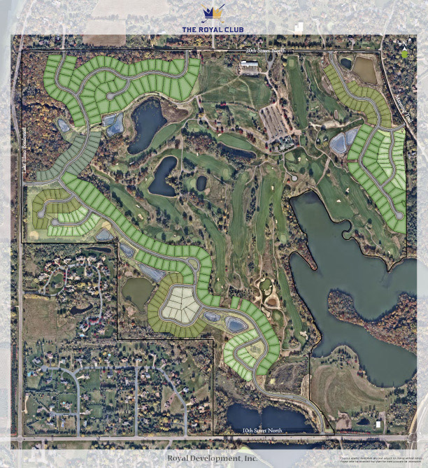 Royal Golf Course Layout