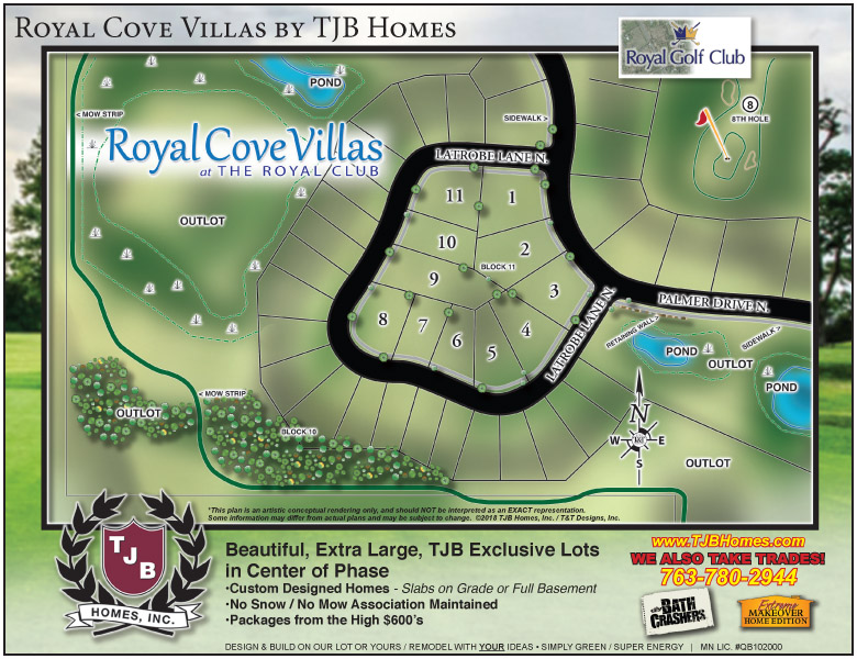 Royal Cove Villas at Royal Golf Club.