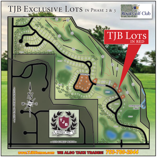 TJB Lots on Royal Golf Club Phase 2-3.