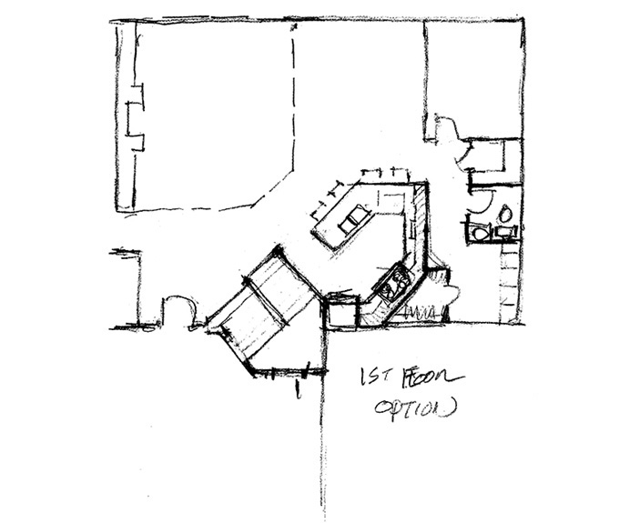 Home Plan Main Floor Plan Option