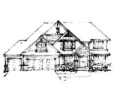 Two Story Home Plan North Oaks Plan #200