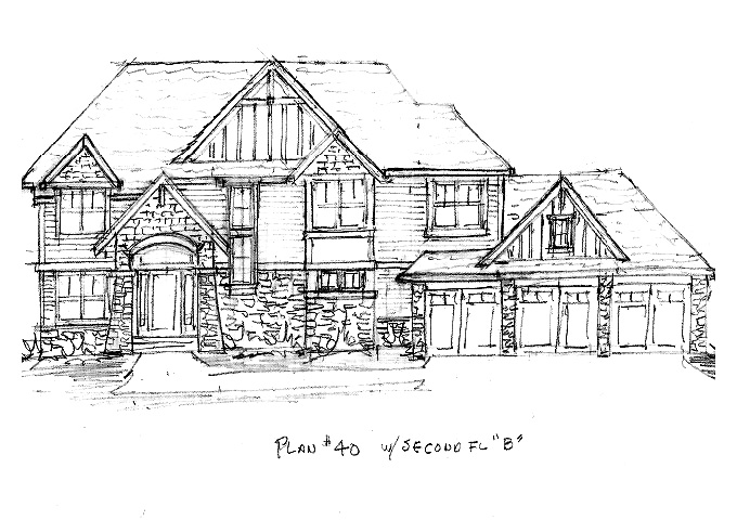 North Oaks #40 Home Plan