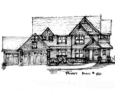 Two Story Home Plan North Oaks Plan #50