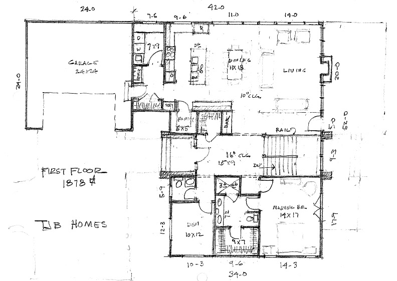 Home Plan First Floor Plan
