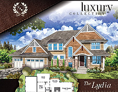 Two Story Home Plan The Lydia