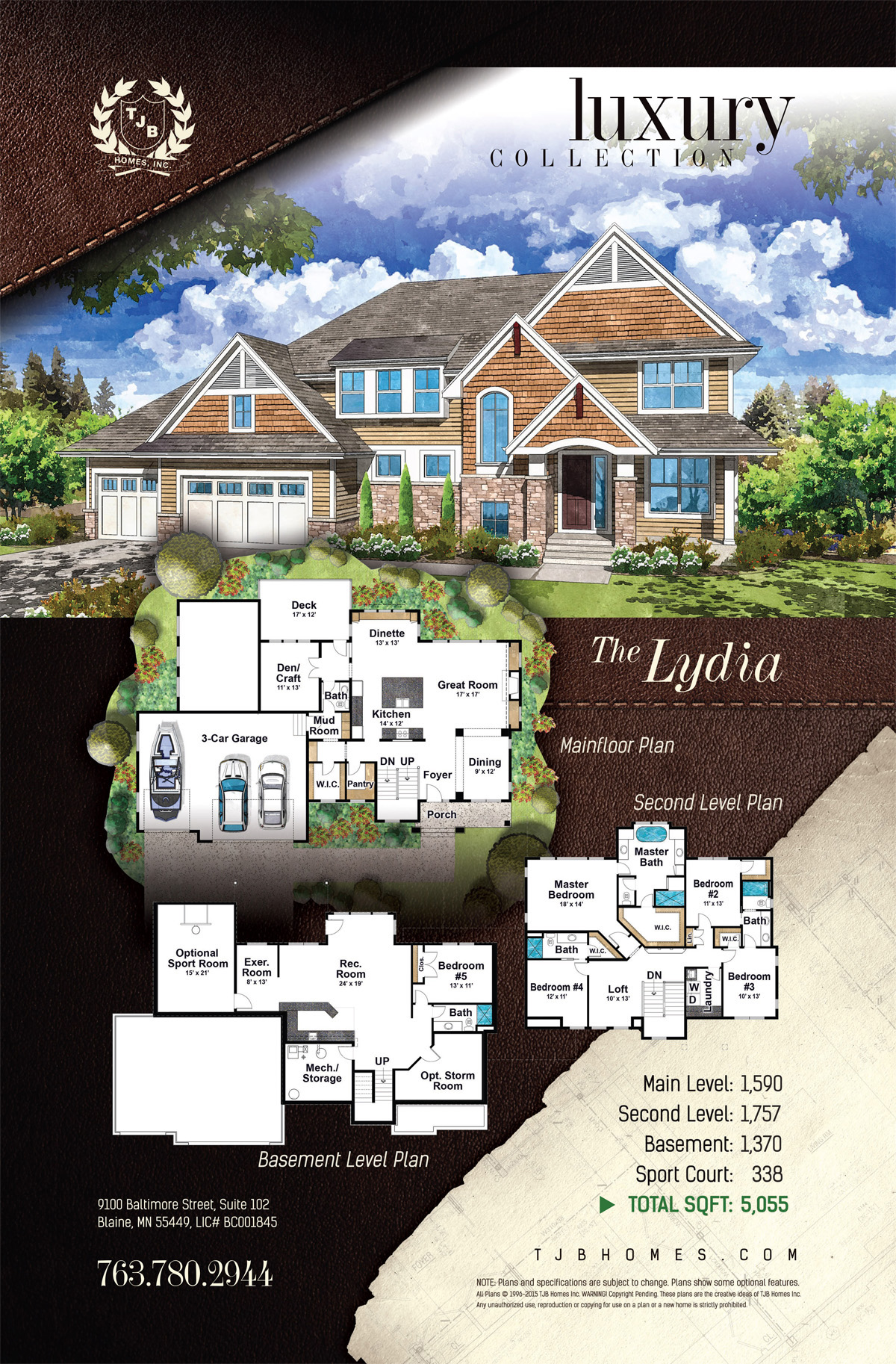 The Lydia Home Plan