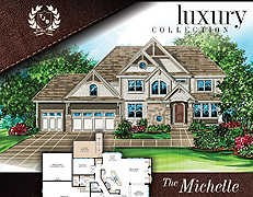 Two Story Home Plan Michelle #317