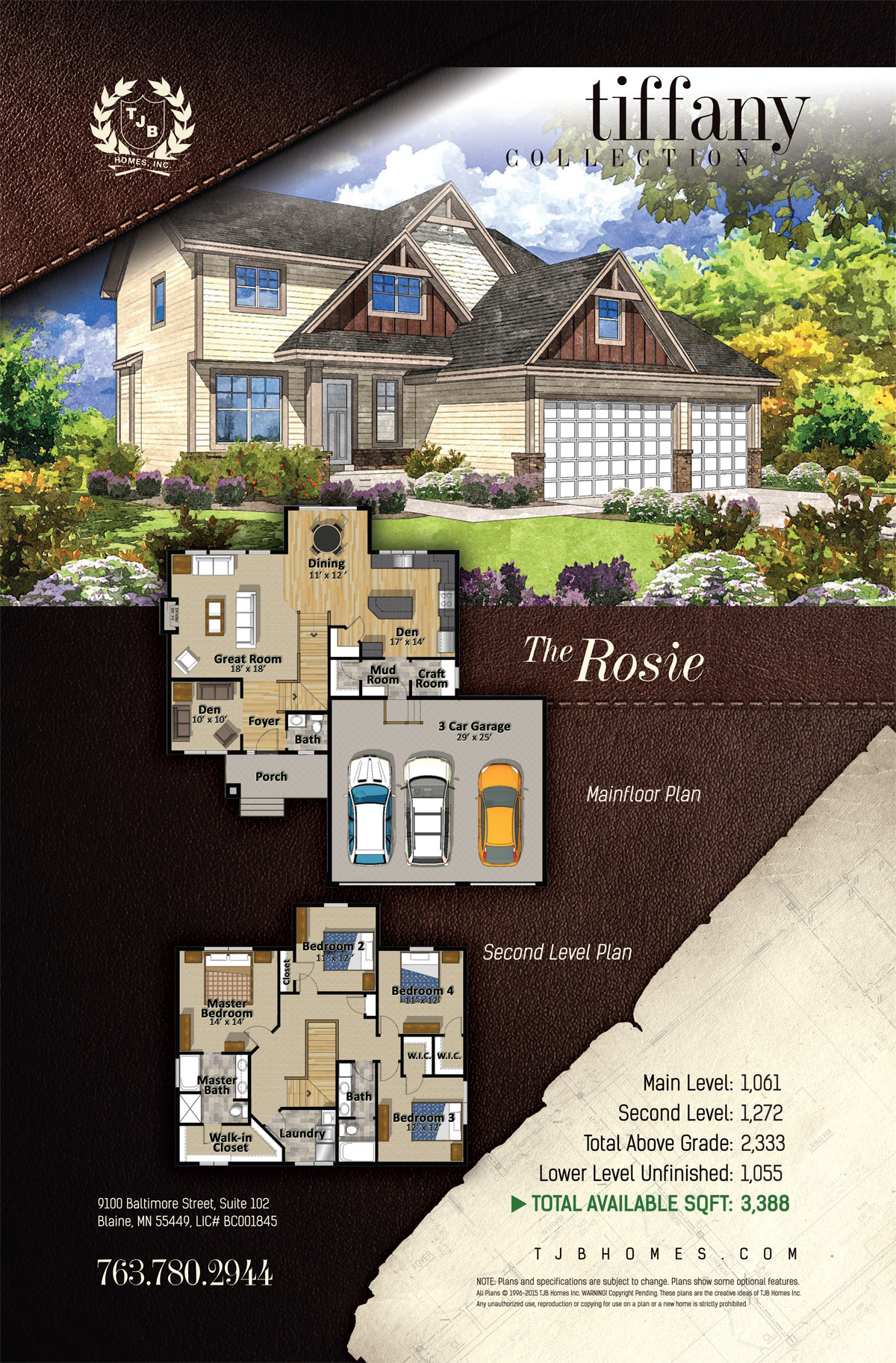 The Rosie Home Plan