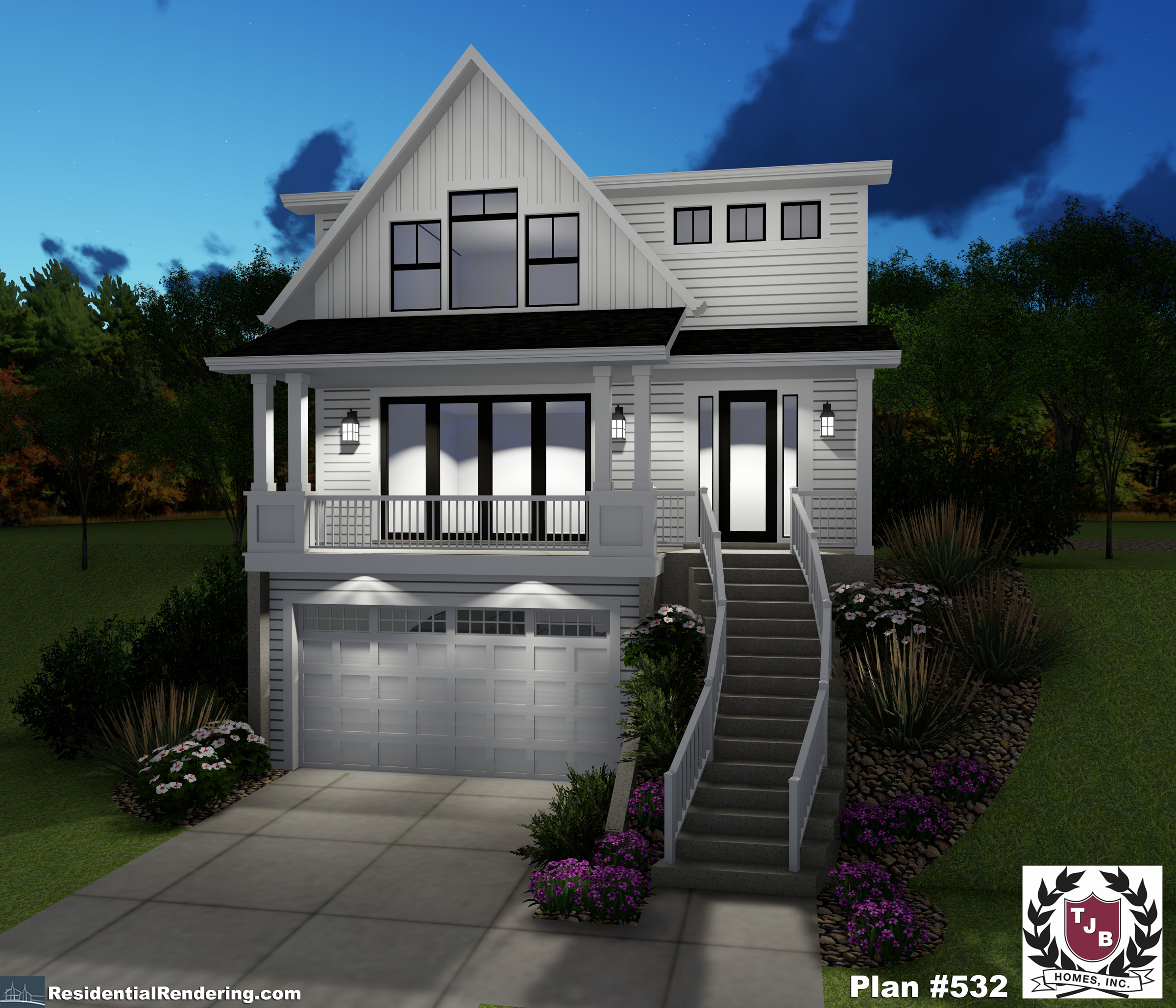 TJB Plan #532 Kayleen Home Plan