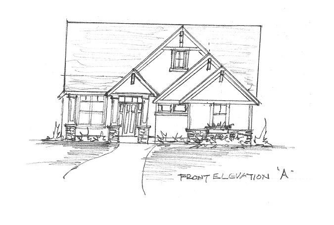 Home Plan Elevation Option A