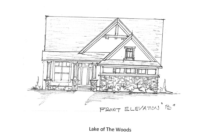 Home Plan Elevation Option B