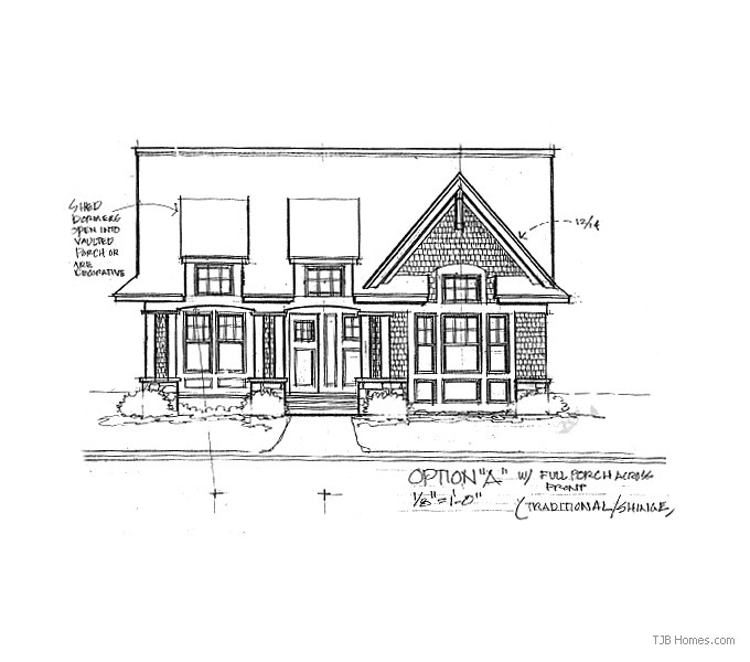 Home Plan Front Option A