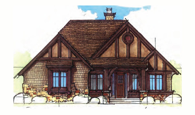 Wheat Hill Abbey Home Plan