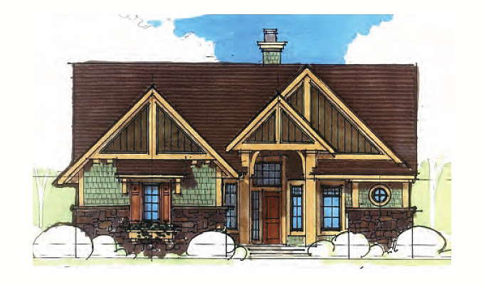 Wood Spring Home Plan