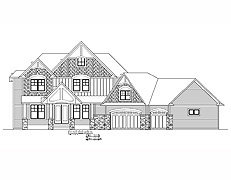 Sport Court Home Plan #401
