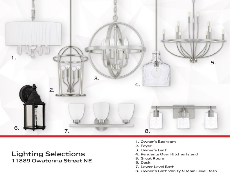 Lighting Selections